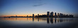 New york panorama at dawn