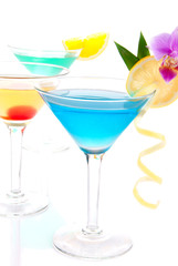 Tropical martini Cocktails