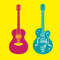 ギター2種類