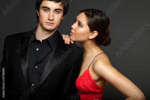Luxurious couple