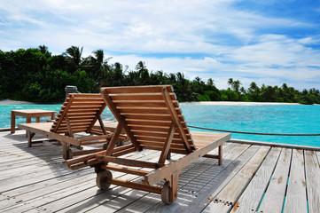 Malediven - Strandliegen