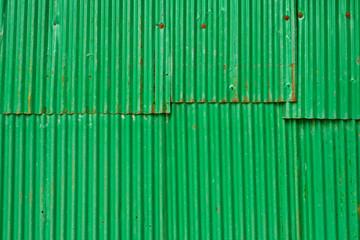 Green steel sheet .