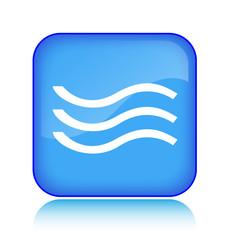 Wasser Wellen Button