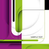 Fototapety Stylish business layout with designed shapes.