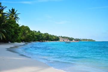 Malediven - Inselpanorama