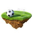 Concept for soccer championship, league, team design