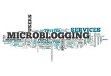 "Word Cloud ""Microblogging"""