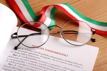 costituzione italiana - due