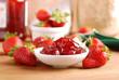 confettura di fragole - quattro