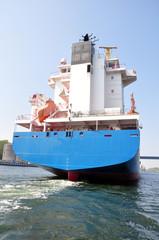 Heck vom Schiff