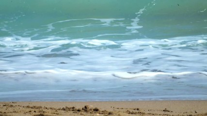 vidéo des petites vagues