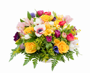 Spring flower assortment