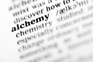 alchemy (the dictionary project)