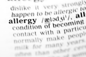 allergy (the dictionary project)
