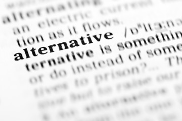 alternative (the dictionary project)