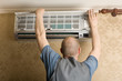 Adjuster air conditioning system sets a new air conditioner