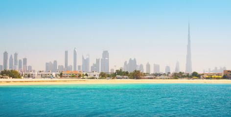 Dubai. Beautiful beach and sea