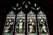 Постер, плакат: Evangelists stained glass in Wolverhampton UK