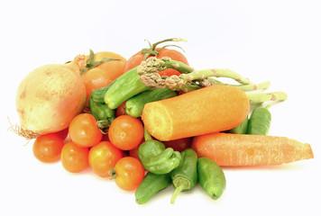 Verdura variada