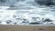 vidéo courir dans le sable