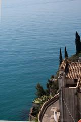 Costiera amalfitana-paesaggio
