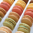 macarons en couleur