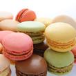 couleurs de macarons
