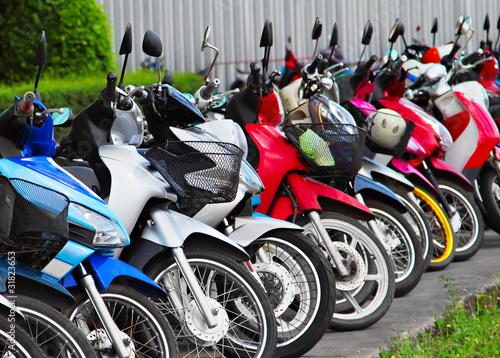 Many motobikes