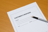 customer response poster