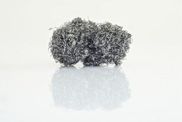 Topfreiniger, Stahlwolle