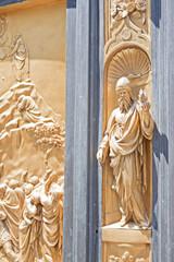 Detalle de la Puerta del Paraiso - Florencia- Italia