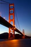 Golden Gate Bridge at dusk, San Francisco, California - 31825652