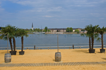 Strandbad in Mainz
