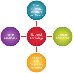 National advantage business diagram