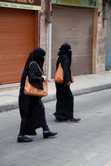 Muslimas beim Shoppen