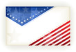 Stars and Stripes, background, business or gift card, eps8