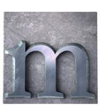 Typescript m  letter poster