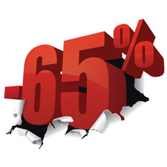 Promotions -65%