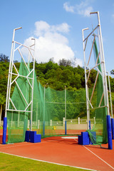 The Hammer and Javelin Throwing Area