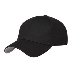 black cap with clipping path