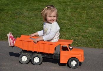 bébé race car