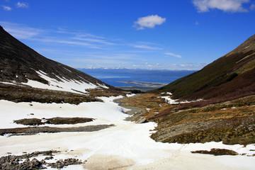 Glaciar Martial y Ushuaia