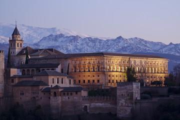 Granada, Alhambra skyline