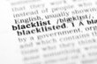 blacklist (the dictionary project)
