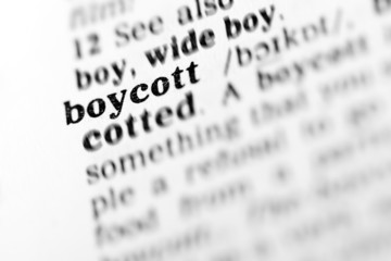 boycott (the dictionary project)