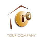 Logo home security # Vector