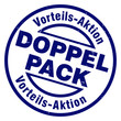 doppelpack vorteilsaktion stempel