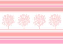 blühenden Baum