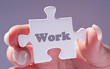 Work - Business Concept - Jigsaw Style