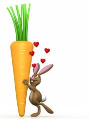 bunny loves carrot